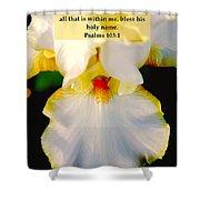 Psalms 113 V 1 Shower Curtain