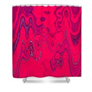 Psychedelic Shower Curtain by DigiArt Diaries by Vicky B Fuller