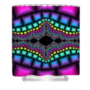 Psychedelic Shower Curtain