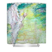 Psychedelic Hitchhiker Shower Curtain