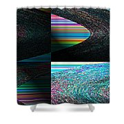 Psychedelic II Shower Curtain