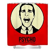 Psycho Poster 1 Shower Curtain