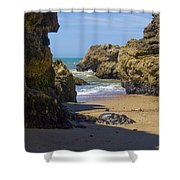 Pt Reyes National Seashore Shower Curtain by Bill Gallagher