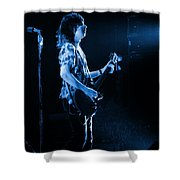 Pt78 #2 In Blue Shower Curtain