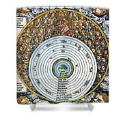 Ptolemaic Universe, 1493 Shower Curtain
