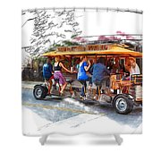 Pubcycle Shower Curtain