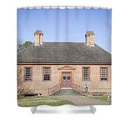 Public Records Office Williamsburg Virginia Shower Curtain