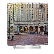 Public Square Cleveland Ohio Shower Curtain