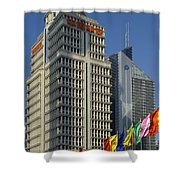 Pudong District, Shanghai Shower Curtain