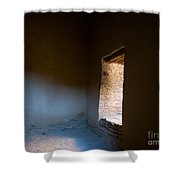 Pueblo Bonito Interior Window Detail Shower Curtain