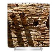 Pueblo Bonito Wall Shower Curtain
