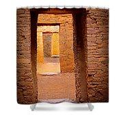 Pueblo Doorways Shower Curtain