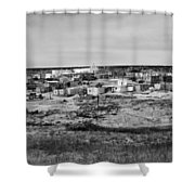 Pueblo Landscape Shower Curtain