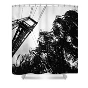 Puente Colgante Iv Shower Curtain