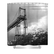 Puente Colgante Shower Curtain
