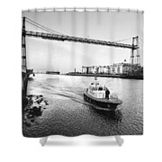 Puente Colgante V Shower Curtain