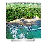 Puerta Plata Coastline Shower Curtain