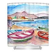 Puerto De Sardina 03 Shower Curtain