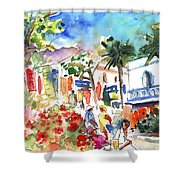 Puerto Mogan 10 Shower Curtain