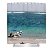 Puerto Morelos Shower Curtain