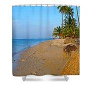 Puerto Rico Beach Shower Curtain