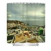 Puerto Rico From Above  Shower Curtain