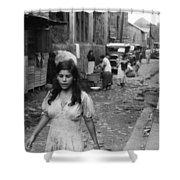 Puerto Rico Slum, 1942 Shower Curtain