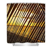 Puerto Rico Sunset 2 Shower Curtain