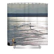 Puget Sound 2014 Shower Curtain