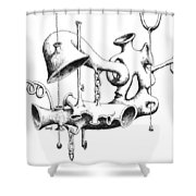 Pull My Chain Sweetheart Shower Curtain