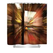 Pull Shower Curtain