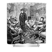 Pullman Car, 1876 Shower Curtain by Granger