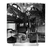 Pullman Car El Fleda Shower Curtain