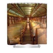 Pullman Porter Train Car Shower Curtain