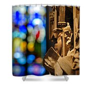 Pulpit Trinity Cathedral Pittsburgh Shower Curtain