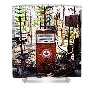 Pump Shower Curtain