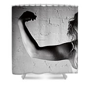 Pump You Up II Shower Curtain