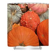 Pumpkin Happy Shower Curtain