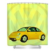 Punch Buggy Shower Curtain