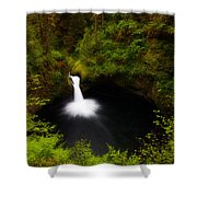 Punchbowl Morning Shower Curtain