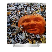Punkin' Hed Shower Curtain