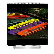Punts For Hire Shower Curtain