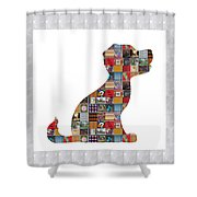 Puppy Dog Showcasing Navinjoshi Gallery Art Icons Buy Faa Products Or Download For Self Printing  Na Shower Curtain