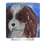 Puppy Doll Shower Curtain