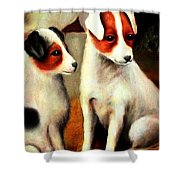 Puppy Love 2 Shower Curtain