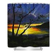 Purdy Sunset Shower Curtain