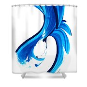 Pure Water 260 Shower Curtain