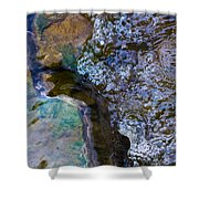 Purl Of A Brook 1 - Featured 3 Shower Curtain