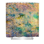 Purl Of A Brook 4 - Featured 3 Shower Curtain by Alexander Senin