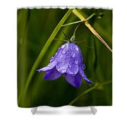 Purple Bell Shower Curtain